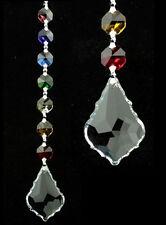 Fengshui Harmony chakras cadena cristal chakra con caja de regalo feng shui