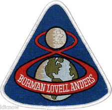 Apollo 8 Mission Embroidered Patch 11cm x 10cm approx