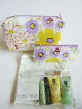 CLINIQUE SPRING COSMETIC BAG 9 PIECE SET *BRAND NEW