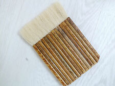JAPANESE CHINESE XL GOAT HAIR 16 SECTION BAMBOO PAINTING BRUSH CRAFT ART TOOL A9