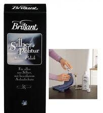 NEW Schmuckpflege Brillant-Silber-Politur 125 ml Politur Anlaufschutz Versilbert