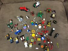 EUC Huge Lot of LEGO City Advent Calendar Minifigures and Accessories ~Christmas