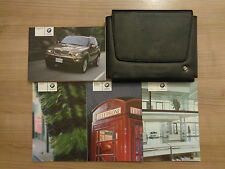BMW X5 Owners Handbook/Manual and Pack 04-07