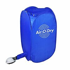 blue Portable Folding Pop Up Electric Air Drying Clothes Dryer Heater Machine