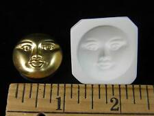 Round Moon Face Polymer Clay Mold (#MD1122A)