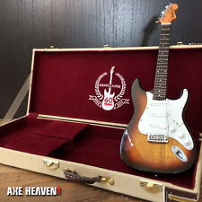Officially Licensed Fender Sunburst Stratocaster & 60th Anniversary Case MiniSet