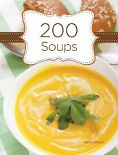 200 SOUPS by Madge Baird Internal Wire-O bound NEW HARDCOVER - SHRINK WRAPPED
