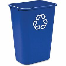 "Newell Rubbermaid, Inc Recycle Container 41-1/4 Qt 20""x10""x15-1/4/"" Blue"