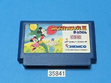 USED MICKEY MOUSE III 3 NES nintendo Famicom FC Video Games From Japan 35841