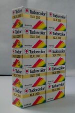10 Rolls Tudorcolor Fuji Color Negative 35mm Print Film ISO200 36exp expired