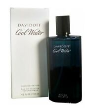 Cool Water By Davidoff Men 4.2 OZ 125 Eau Eau De Toilette Spray Tst Bottle W/Cap