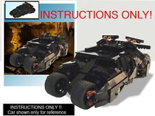 CUSTOM Batman Dark Knight Batmobile Tumbler UCS scale (Lego Instructions ONLY!)
