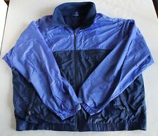 Patagonia Retro Windbreaker Ski Jacket Men's XL Blue Coat Full Zip 90s Rain Snow