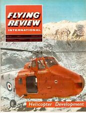 FLYING REVIEW INTL FEB 65 HELO SPECIAL_F-111_AGUSTA_SOVIET MIL_WESTLAND_Ju52/3m