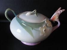 Franz Porcelain Butterfly Sugar Jar - XP1877 - BNIB