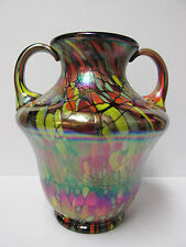 43541N - 6 1/2'' Myriad Mosaic Vase - Fenton 2005 Centennial Collection Piece