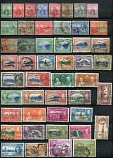 TRINIDAD and TOBAGO  1913 – 1949  ***** 48 STAMPS  ***** 9 MINT / MNH