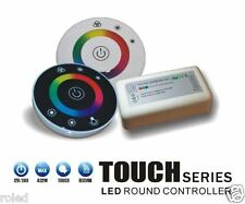 SET 2.4GHz  RGB LED Touch Remote Fernbedienung Controller für Stripe 3 x 6A 18A