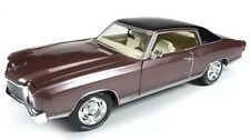 1971 CHEVROLET MONTE CARLO SS 454 ROSEWOOD LTD TO 1002PCS 1/18 AUTOWORLD AMM1055