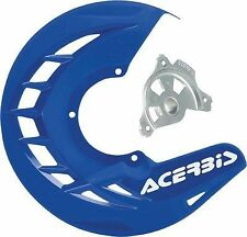 Acerbis X-Brake Blue Front Disc Cover w/ Mounting for Yamaha 250 450 02-13