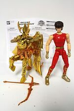 "Knights of the Zodiac Complete Sagittarius Action Figure, Bandai 2003 9"" [A18]"