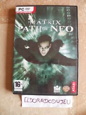 ELDORADODUJEU     THE MATRIX PATH OF NEO Pour PC Français CD COMME NEUF