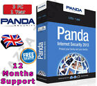 PANDA INTERNET SECURITY 2013 3 PC USER 1 YEAR! Activation License Key AntiVirus