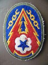 PATCH US ARMY ETO ADVANCED BASE PATCH 2ème GM ? WW2 US BADGE ?