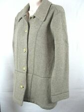 LA coste   womEns sweater jacket sz 42 10 OATMEAL