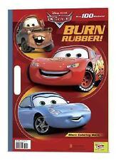 Burn Rubber! (Disney/Pixar Cars) (Giant Coloring Book), RH Disney