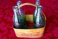 FOUND - Coca Cola Bottles & Basket 1940s - Greeley Colorado - Vintage Collector