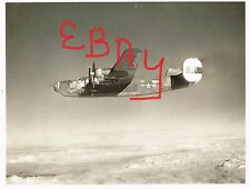 "WWII ACTION 8X10 PHOTOGRAPH OF B-24 BOMBER IN FLIGHT 8TH USAAF ""LIL SNOOKS"" WOW"