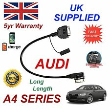 For AUDI A4 4F0051510K iPhone 3gs 4 4s & most iPod AMI MMI Audio Cable Long 1.2m