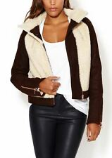 *NWT* J Brand BELITA Sherpa Shearling Jacket, Large - Retail $2,495