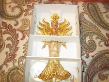 Mattel Barbie Dolls Bob Mackie Sun Goddess NRFB Illustration Bent