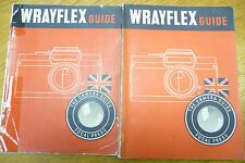 WRAYFLEX CAMERA GUIDE Focal Press 1954 1st edition 80 pages
