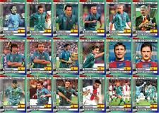 FC Barcelona 1997 European Cup winners Cup Winners football trading cards