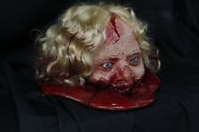 Acid Head Female Zombie - Halloween Prop & Decoration The Walking Dead Corpse