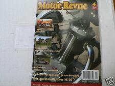 MOTOR REVUE 2006-04 POSTER LAMBRETTA 150 LI,PANTHER M100,GILLET,SIDECAR RACING,