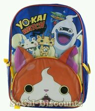 "Yo-Kai Watch Cat Jibanyan School Backpack Book Bag for Kids Boys Girls 16"" NWT"