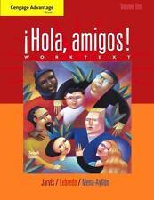 Cengage Advantage Books: Hola, amigos! Worktext Volume 1, Mena-Ayllon, Francisco