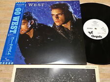 GO WEST-ST  Rare Japan Promo White Label  LP w/OBI