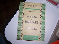 LIBRO CORSO PRATICO DI LINGUA INGLESE POWELL ARTHUR ERI RAI 1960