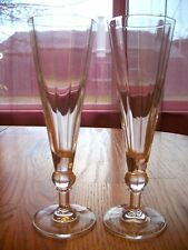Flutes - Contemporary Simple, Elegant - CLEAR Glass -- 318