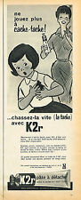 PUBLICITE ADVERTISING 025  1961  K2R    pate à détacher