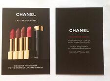 Tres Jolie carte Chanel L'allure De Chanel