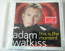 Adam Watkiss - This Is the Moment ( CD Album 2001 )  Used very good