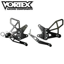 Vortex rear sets foot pegs brake lever shifter Yamaha R6 2006 - 2016