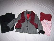 Lot 5 Women Plus Size 16 XL Clothing Outfit Jeans Top Scarf Jacket Lean George