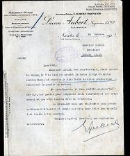 "NANTES (44) MACHINES-OUTILS ,OUTILS ""F. AUBERT & THOUVENIN / Lucien AUBERT"" 1925"